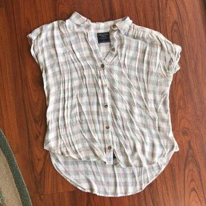 Abercrombie & Fitch flannel top